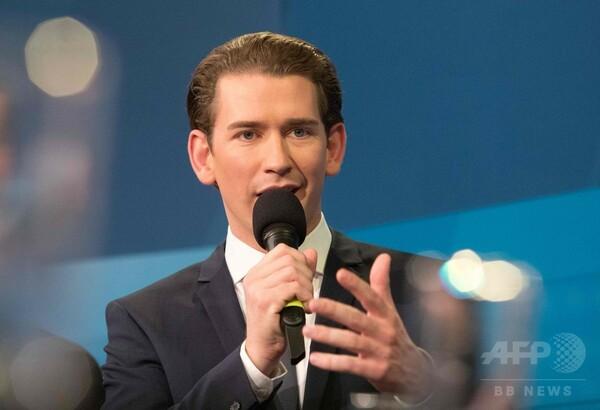 オーストリア総選挙、中道右派勝利へ 「風雲児」31歳首相誕生か