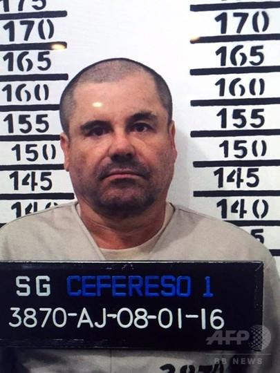 再収監されたメキシコ麻薬王、毎日の食事は犬が毒味