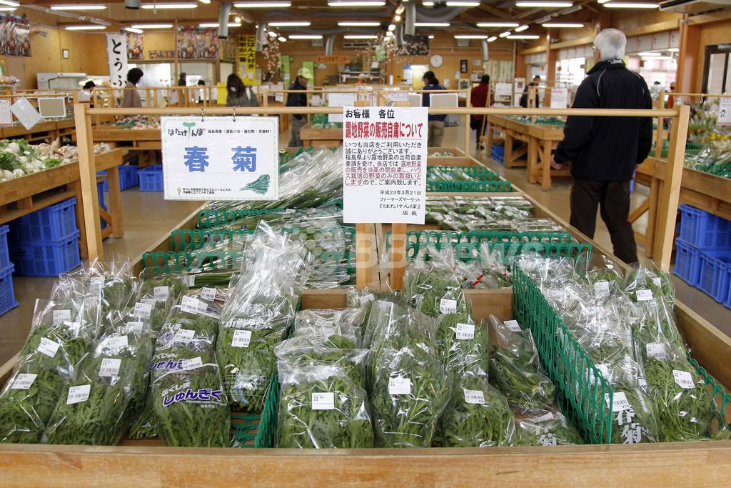 菅首相、福島産ブロッコリーなどの出荷停止を指示