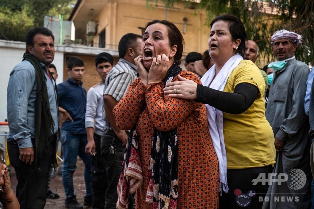 シリア北部、停戦後も戦闘 トルコ大統領、作戦再開を警告