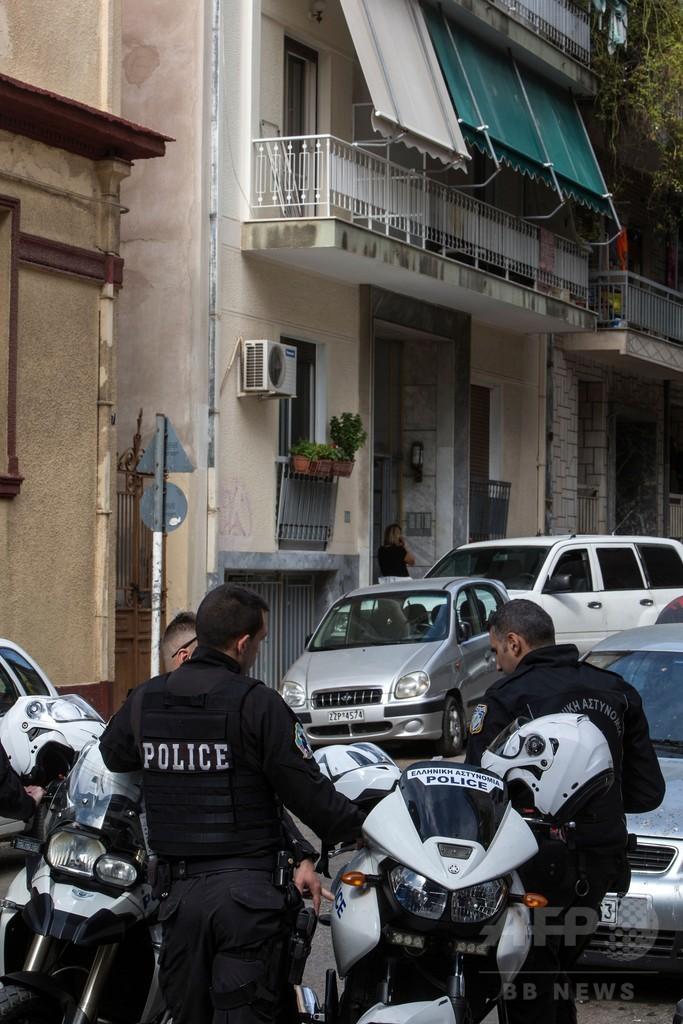ギリシャ元首相ら宛ての手紙爆弾事件で29歳の男を逮捕