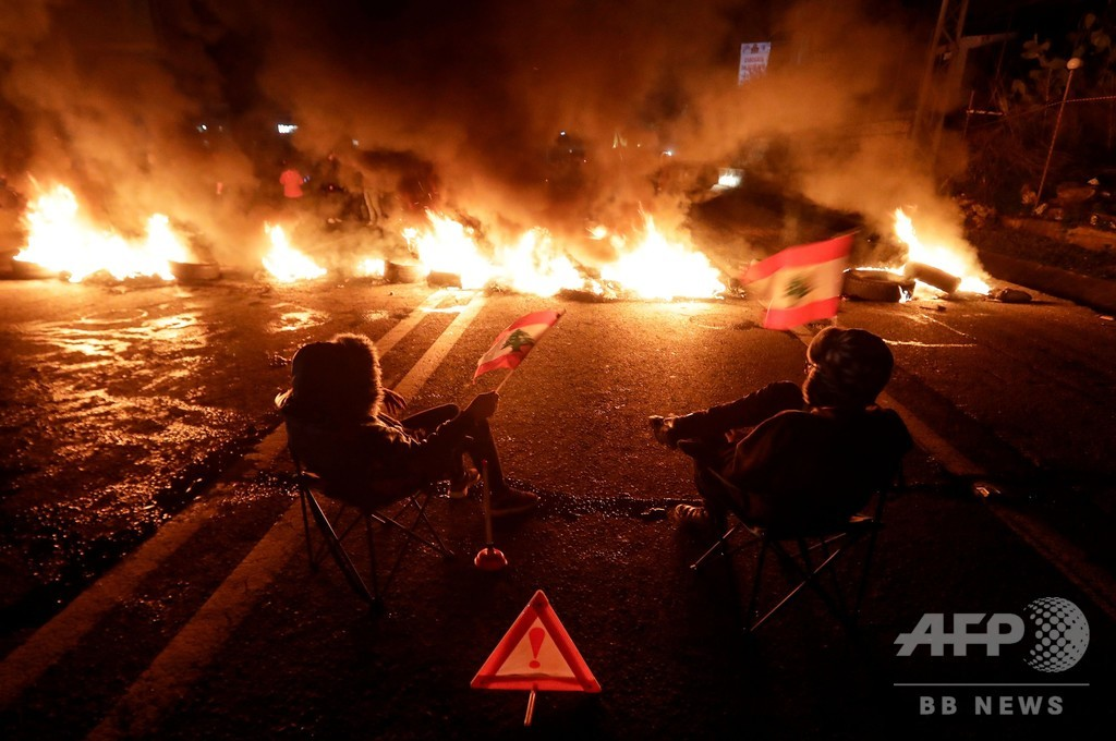 抗議デモ続くレバノン、新政権発足 課題山積 前首相退陣から3か月