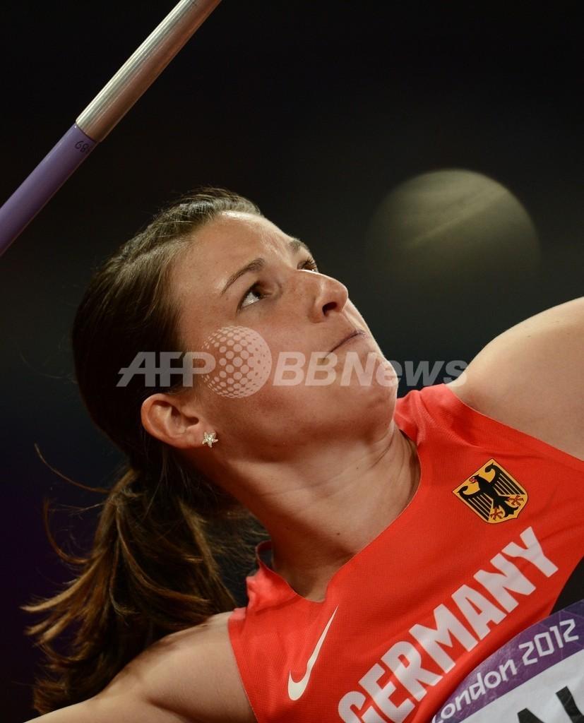 スポタコバが2大会連続の金メダル獲得、女子やり投げ
