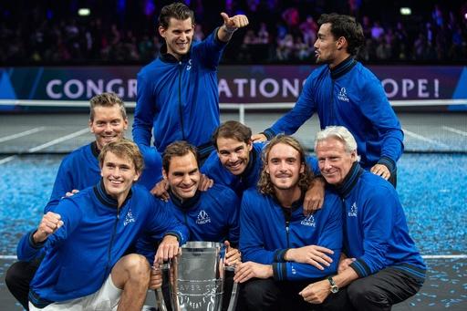 欧州チームがレーバー杯3連覇、ズベレフが最終戦で優勝決める