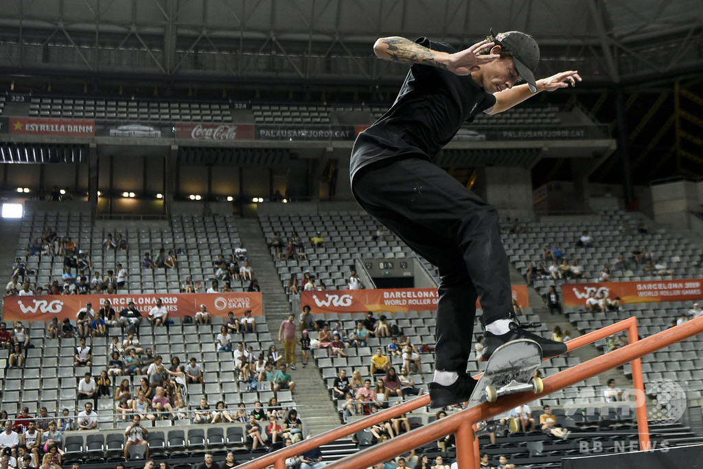 「僕らは今やアスリート」 東京五輪へ真剣勝負のスケートボーダー