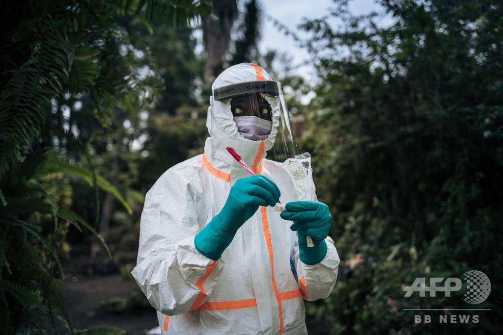 新型コロナ、コンゴがワクチン治験参加の用意 「実験台にされる」との批判も