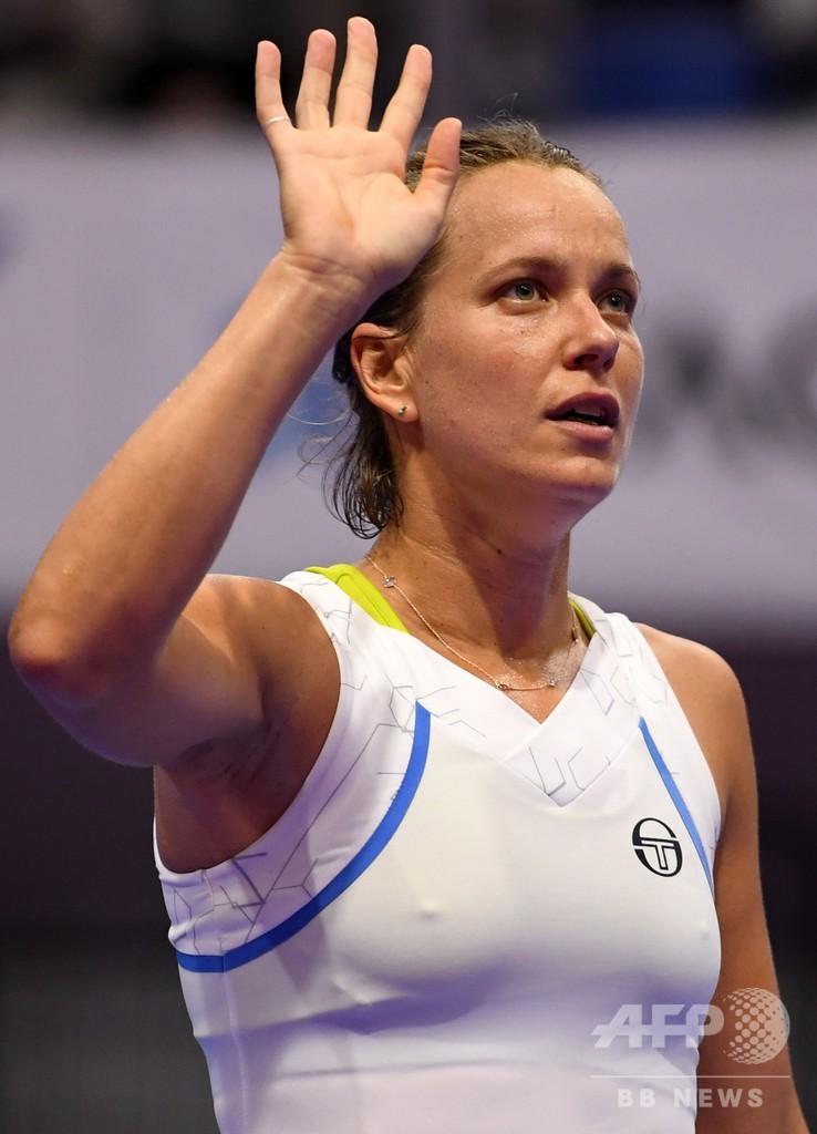 ストリコバが大坂との準々決勝へ進出、前回女王は敗退 東レPPO