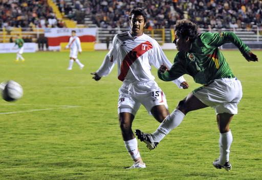 ボリビア 親善試合でペルーに勝利
