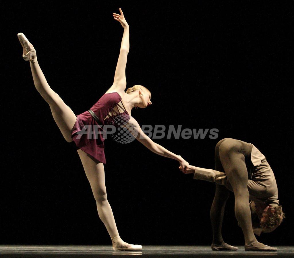ウィーン国立バレエ団、「イン・ザ・ナイト」のリハーサル