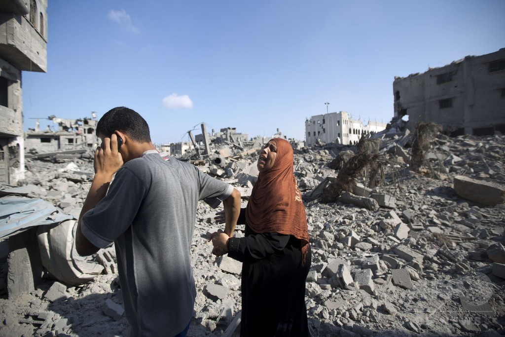 停戦中に147人の遺体収容、ガザ地区の死者1000人超える