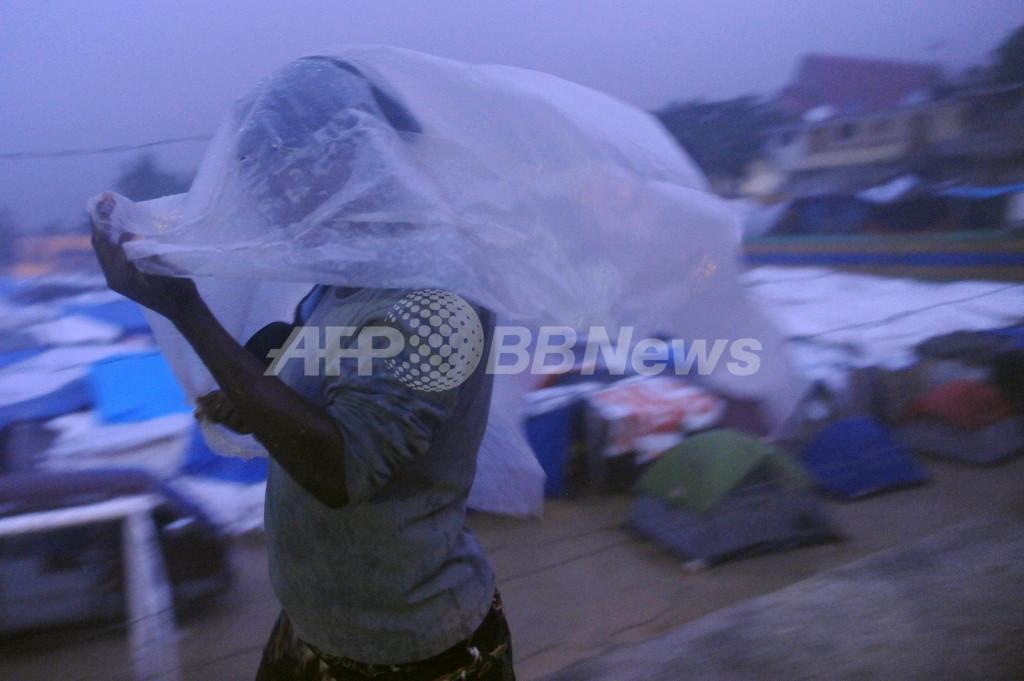 ハイチで洪水、11人死亡 震災被害に追い打ち