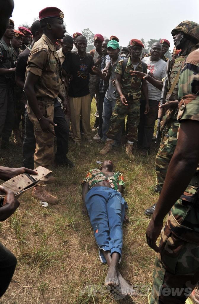 武装勢力の元戦闘員、リンチで死亡 中央アフリカ
