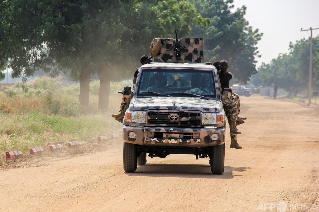 IS系武装集団が兵士5人殺害、民間人35人拉致 ナイジェリア北部