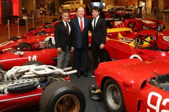 ずらり50台、フェラーリ展開幕 モナコ