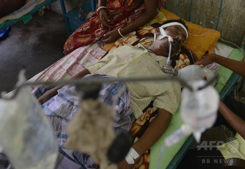 インドで脳炎の感染拡大、150人死亡