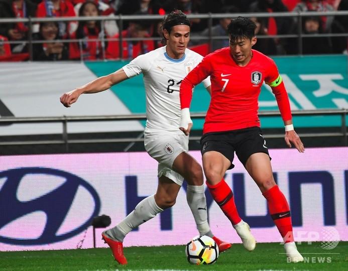 韓国、カヴァーニ出場のウルグアイに勝利 国際親善試合
