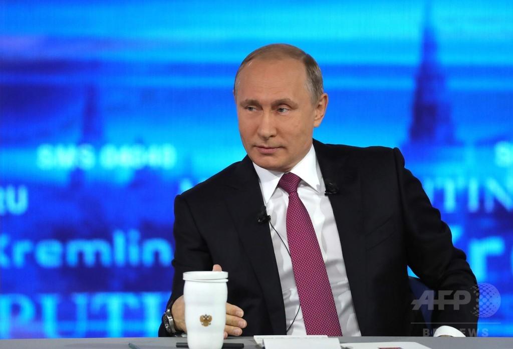 「前FBI長官の亡命認める」プーチン氏がジョーク、2人の孫も公表