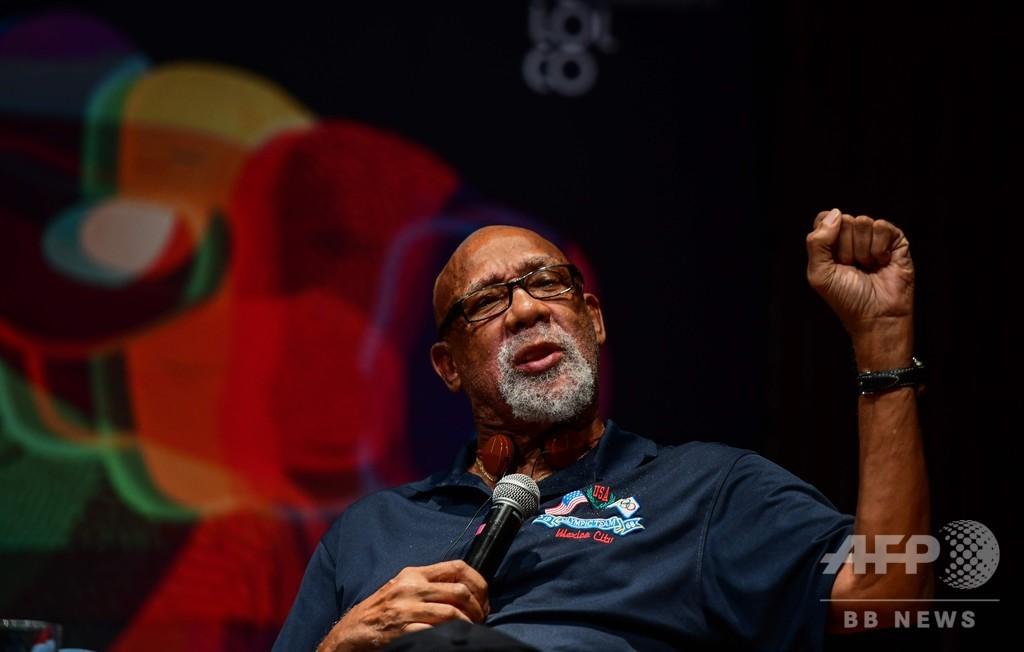米五輪委と「ブラックパワー」の象徴、IOCに抗議禁止の撤廃要望