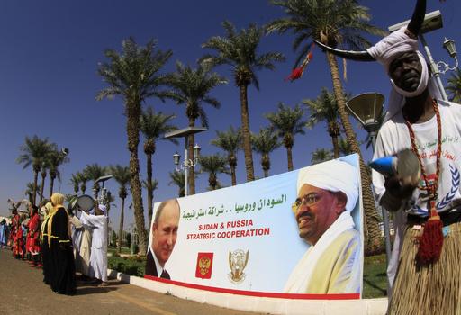 ロシアの駐スーダン大使、自宅プールで死亡 心臓発作か