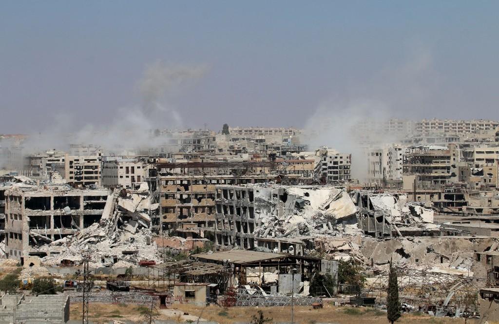 シリア第2の都市が「破滅的」危機に直面 国連機関が警鐘