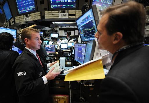 NY株ほぼ3か月ぶりの安値、金融機関安定化策に失望