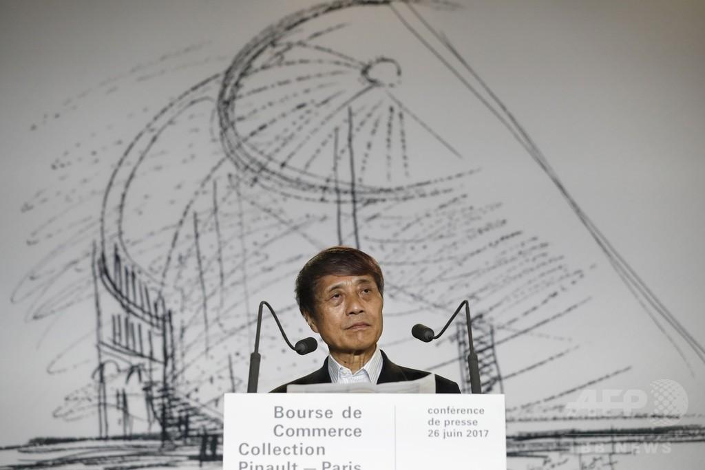 「現代アートの首都」パリに美術館新設へ、設計は安藤忠雄氏