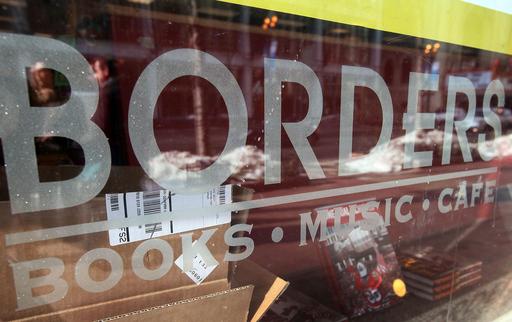 米書店2位ボーダーズが経営破たん、電子書籍普及で業績低迷