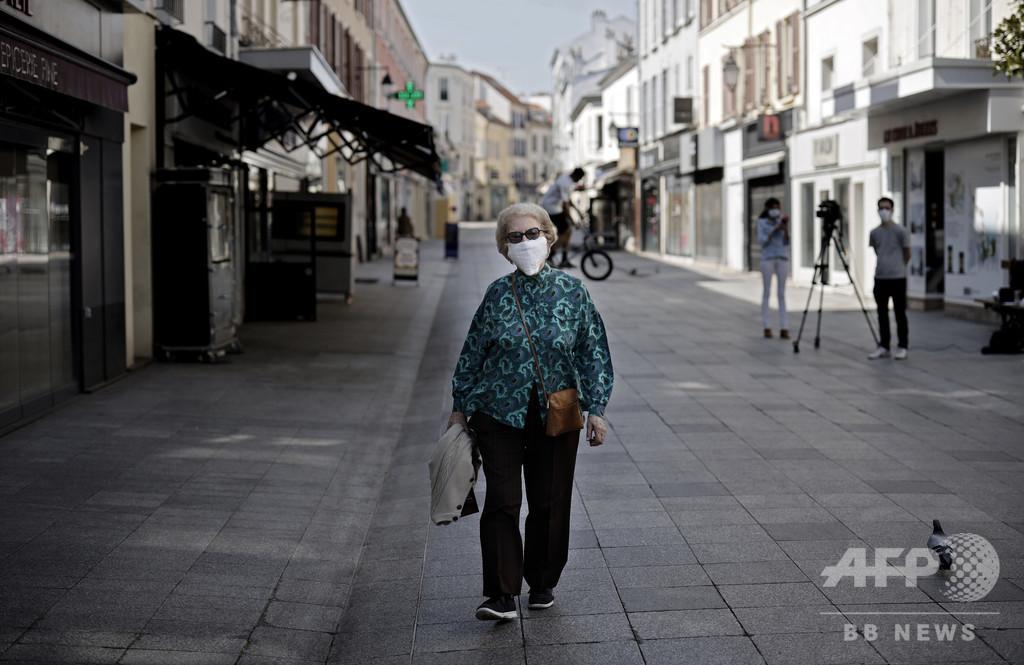 外出時のマスク着用義務、市長の命令を裁判所が差し止め 仏