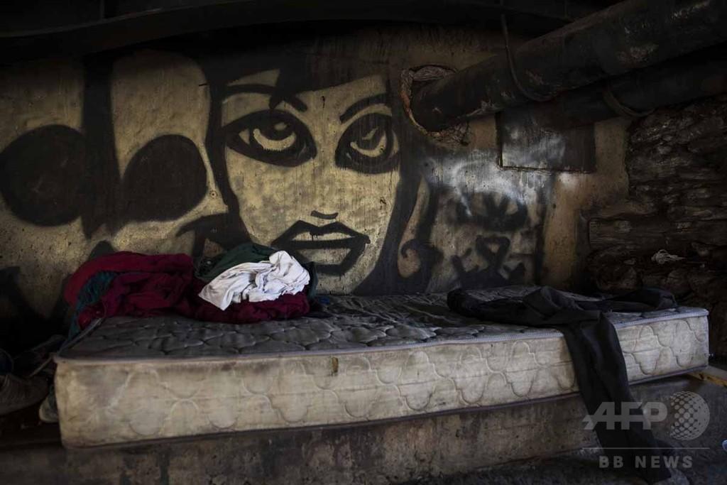 【AFP記者コラム】米ノースフィラデルフィア「ヘロイン・キャンプ」の地獄