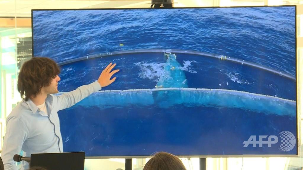 「太平洋ごみベルト」からプラごみ初回収、オランダNGOの海洋清掃プロジェクト