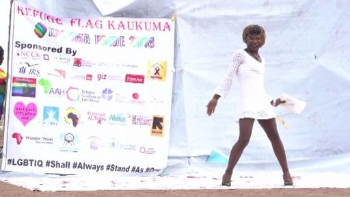 動画:世界初か、難民キャンプでLGBTの祭典「プライド」開催 ケニア