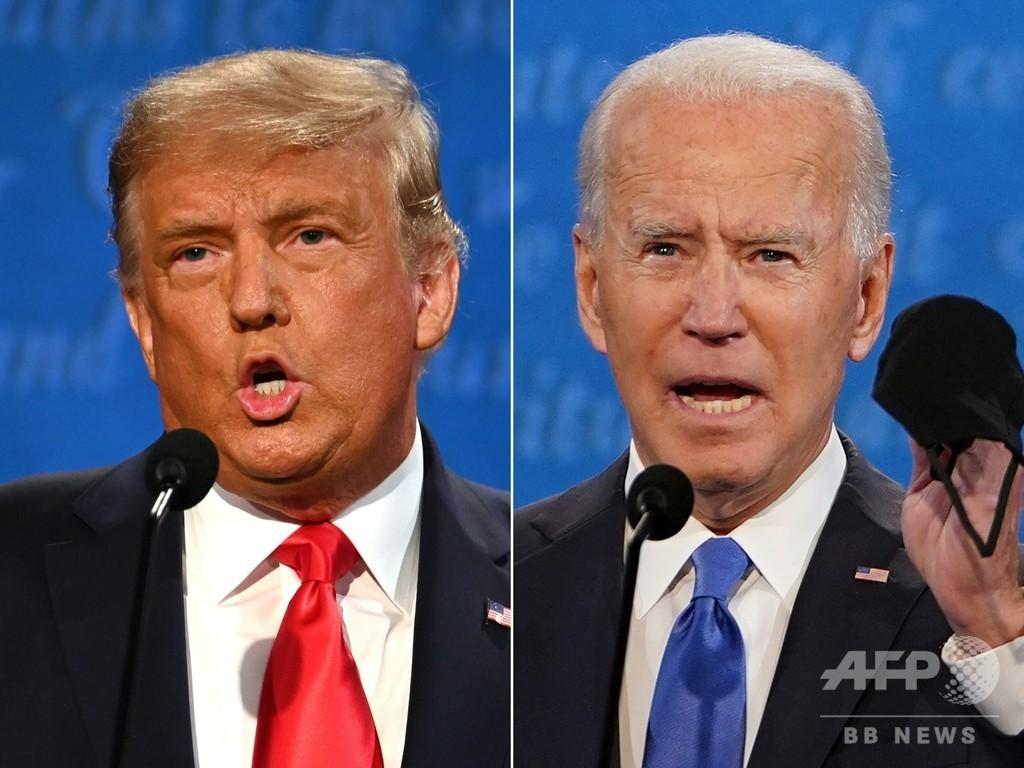 トランプ、バイデン両氏とも相手を圧倒できず 米大統領選第2回討論会