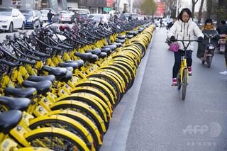中国、シェア自転車の「守り人」 春節中も休みなく