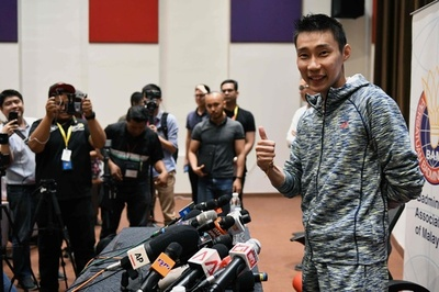 リー・チョンウェイ、「夢」の東京五輪目標に現役続行 がん治療終える
