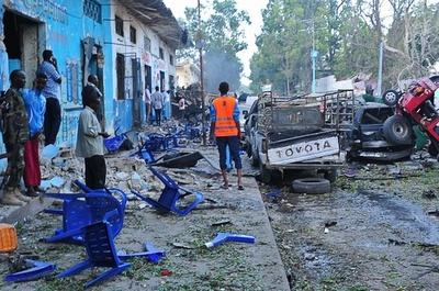 ソマリア首都で攻撃、少なくとも14人死亡 アルシャバーブが犯行声明