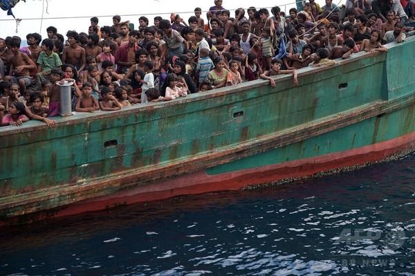 東南アジアで横行するロヒンギャ人らの人身売買