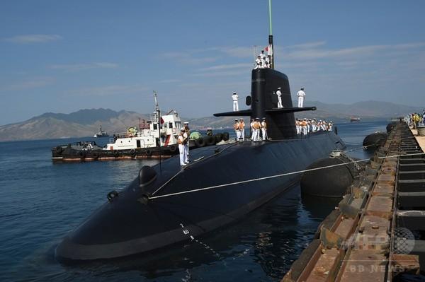 海自潜水艦など3隻、フィリピンに寄港 南シナ海の係争海域近く