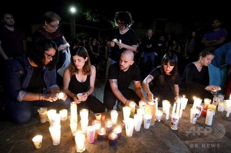 行方不明の学生3人、麻薬組織が拉致し殺害 酸入りのたるも メキシコ