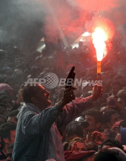 エジプト、サッカー暴動の裁判で21人に死刑判決