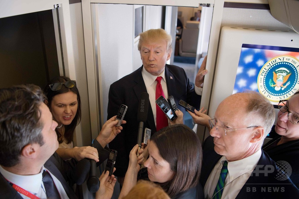 金正恩氏のことを「チビでデブ」とは言わない、トランプ大統領