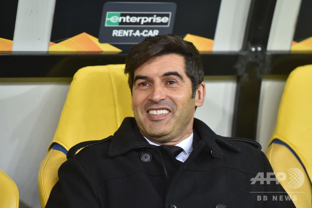 ローマ新監督にフォンセカ氏、ウクライナで3年連続2冠の実績