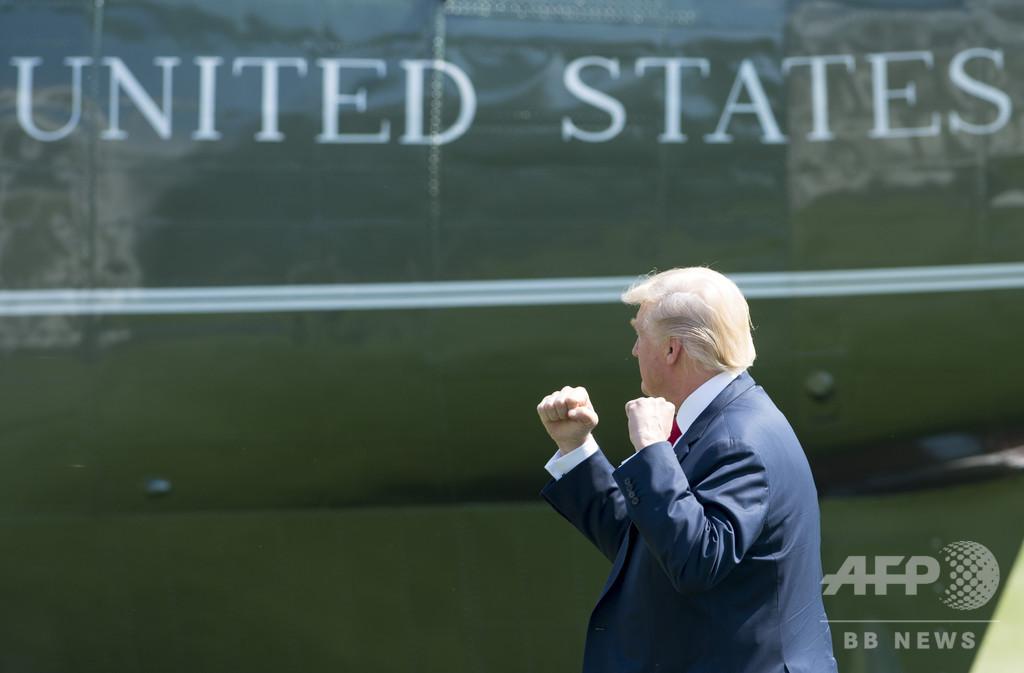 【記者コラム】汗に強いシャツとトランプ流ホワイトハウス