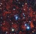 色鮮やかな星団「NGC 2367」、天の川周縁部で輝く