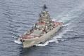 地中海に向かうロシア空母機動部隊、ノルウェー近海を航行