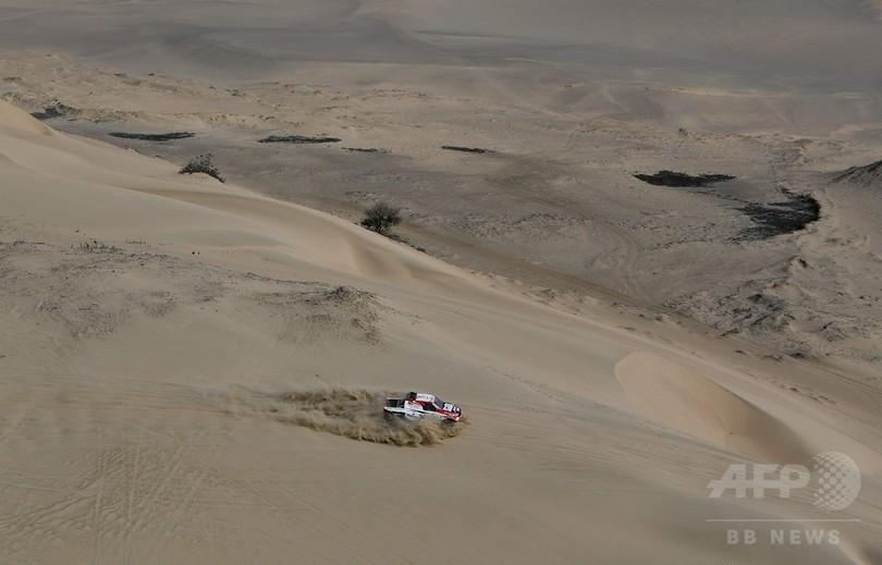 アルアティアが第3ステージ制覇、ペテランセルが総合首位に浮上 ダカールラリー