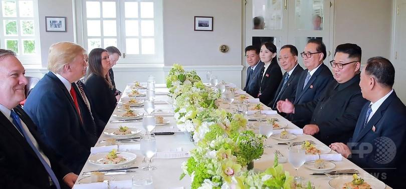 トランプ氏が北朝鮮核脅威の終息アピール 「ぐっすり眠って!」