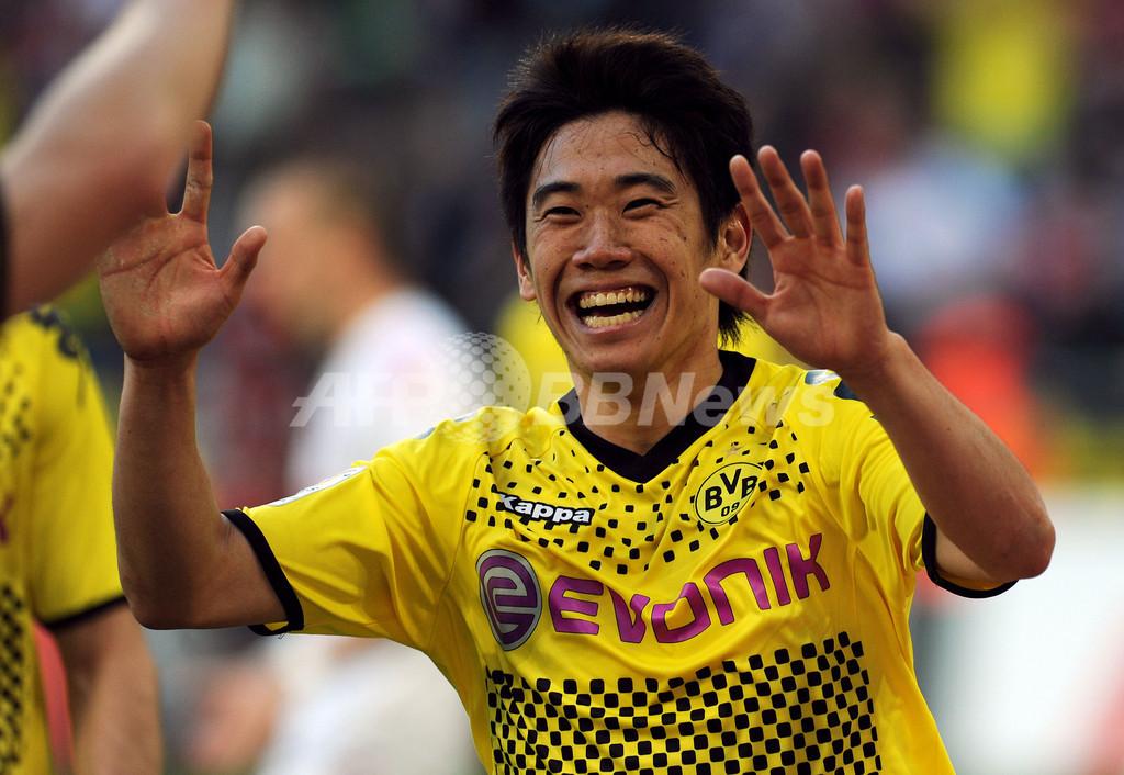 香川が2ゴール1アシスト、ドルトムントが6発大勝
