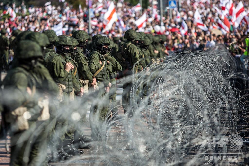 ベラルーシの主権を「尊重」せよ、米政権がロシアに要求