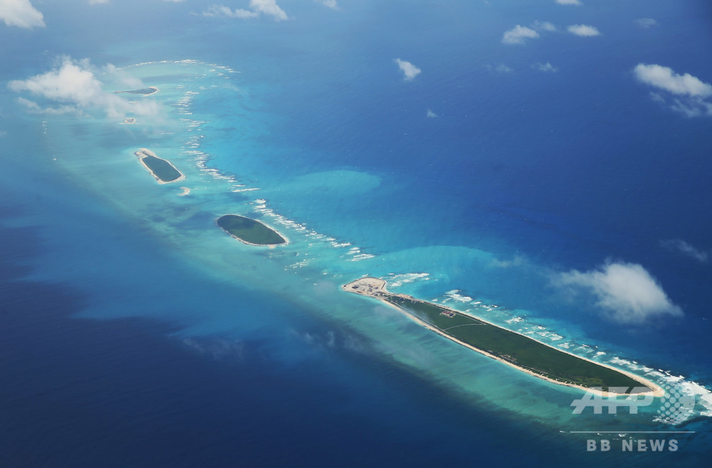 南シナ海で中国が軍事演習、米国防総省が懸念表明