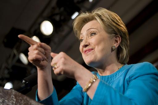 <08米大統領選挙>クリントン氏「勝てる候補はわたし」、特別代議員に訴え